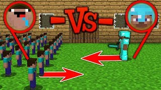 Download Minecraft Battle: NOOB Army vs Pro army: SUPER BATTLE OF CLAY SOLDIERS Challenge Animation Video