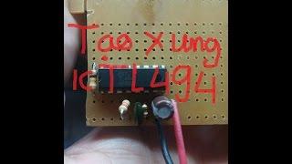 Download tạo xung với ic tl494 từ nguồn atx cũ Video