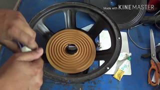 Download speaker repair in hindi (step by step guide)12in. DJ speaker repair. Video
