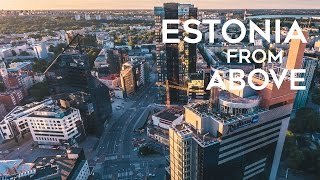 Download Estonia from Above - Aerial Drone 4K Film Video