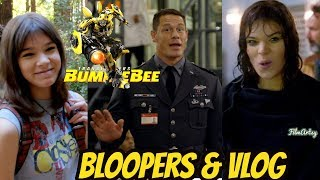Download Bumblebee(2018) Funny Bloopers & Hailee Steinfeld's First Vlog   Behind the Scenes Video