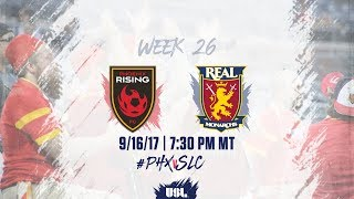 Download USL LIVE - Phoenix Rising FC vs Real Monarchs SLC 9/16/17 Video