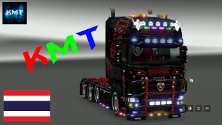 Download [Thailand] Euro Truck Simulator 2 MOD Scania R Tuning packs [RJL] 1.27.xx Video