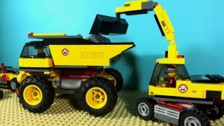 Download LEGO CITY MINING TRUCK 4202 Video