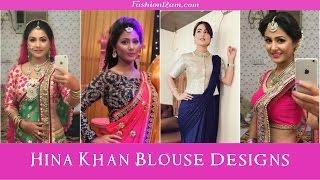 Download Hina khan (Akshara) Sarees & Blouse designs - Yeh Rishta Kya kehlata hai Video