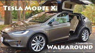 Download Tesla Model X | Owner's Review Part 2 | Walkaround | CarNichiWa Video