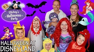 Download Mickey's Halloween Party + HUGE Candy Haul! Video
