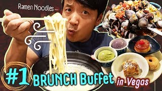 Download #1 Vegas BRUNCH Buffet, BEST Ramen Noodles & TACO TRUCK in Los Angeles Video
