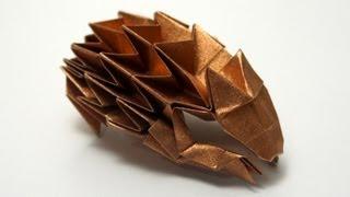 Download Origami Hedgehog (Paulius Mielinis) Video