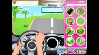 Download Barbie Games Online To Play Free Barbie Car Racing Game Video