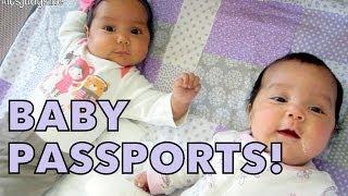 Download Baby Passports! - May 22, 2014 - itsJudysLife Daily Vlog Video