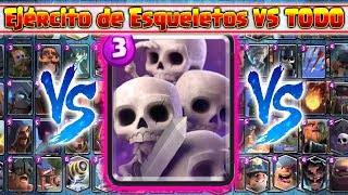 Download Ejército de Esqueletos VS TODAS las Cartas | En Defensa | 14 VS 1 Video
