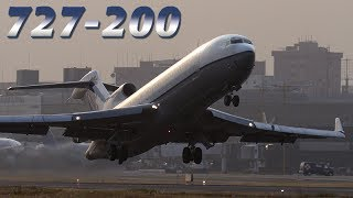 Download Takeoff & INSTANT TURN by Boeing 727 Video