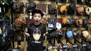 Download New Baseball Glove Shopping Video