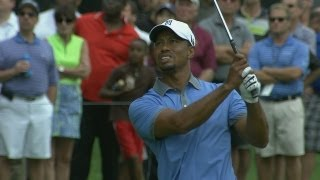 Download Tiger Woods shoots 61 in Round 2 of Bridgestone Invitational Video