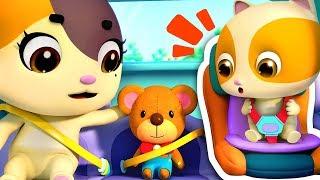 Download 안전벨트 풀면 안돼요!위험해요~!|안전교육동요|고양이 가족|색깔놀이|어린이 애니메이션|베이비버스 동요|BabyBus Video