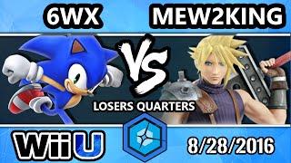 Download Shine 2016 Smash 4 - Echo MVG | Mew2King (Cloud) Vs. Circa | 6WX (Sonic) SSB4 Losers Quarters Video