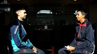 Download When James Anderson interviewed England batsman Haseeb hameed Video