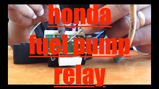 Download Honda Odyssey NO START Replace Repair Fuel Pump Relay √ Video