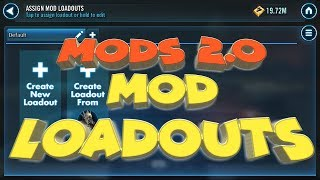 Download Mods 2.0: Mod Loadouts why and how star wars galaxy of heroes swgoh Video