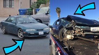 Download before vs after (day of car crash) Video