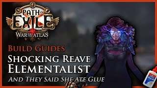 Download Path of Exile [3.3]: Shocking Reave & Blade Flurry Elementalist - Build Guide Video