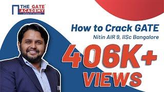 Download Webinar | How to Crack GATE | Nitin AIR 9, IISc Bangalore Video