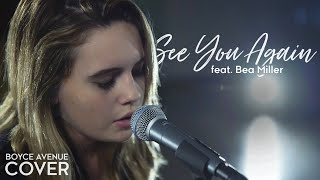 Download See You Again - Wiz Khalifa feat. Charlie Puth (Boyce Avenue feat. Bea Miller) on Spotify & Apple Video