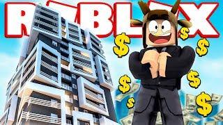 Download BUILDING A $10 BILLION SKYSCRAPER IN ROBLOX! (Roblox Skyscraper Simulator) Video