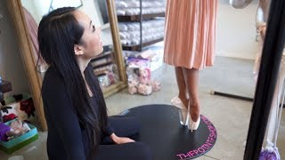 Download First Pair Of Pointe Shoes! What Happens At A Fitting I @MissAuti ft. ThePointeShop Video