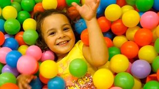 Download Ball Pit Show for Kids Indoor Playground Color Children Toys Surprise Eggs Hunt Video