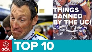 Download Top 10 Things The UCI Have Banned Video
