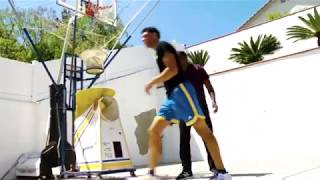 Download Lonzo Ball Practices in his Backyard On the Concrete NOT in the Gym Like Other Players Do Video