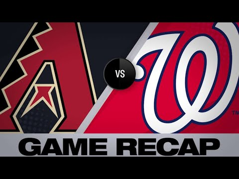 Scherzer shuts down D-backs in Nats' 7-3 win | D-backs-Nationals Game Highlights 6/14/19