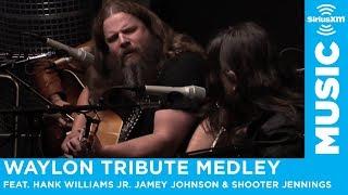 Download Hank Williams Jr. Jamey Johnson & Shooter Jennings ″Waylon Tribute Medley″ Video