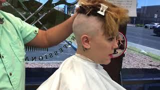 Download Shannon LV: She Gets a Super Short Undercut Bob w/ Bangs (YT Original) Video