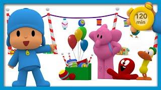 Download 🤣 POCOYO E NINA - Surpresa para todos [ 120 minutos ] | DESENHOS ANIMADOS para crianças Video
