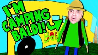Download PLAYING AS CAMPING BALDI! (Let's go camping....) | Baldi's Basics Roblox Roleplay Video