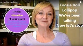 Download Classroom Attention Getters Video