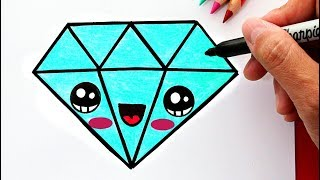 Download Cómo Dibujar un Diamante Kawaii Video