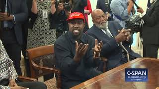 Download Kanye West in the Oval Office with President Trump (C-SPAN) Video