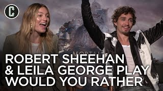 Download Mortal Engines: Robert Sheehan and Leila George Interview Video