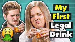 Download 21 Year Olds Try Drinks For The First Time | People Vs. Food Video