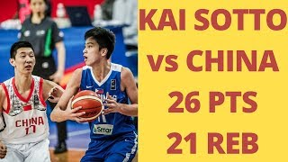 Download Philippines Vs. China FULL HIGHLIGHTS | FIBA Asia U16 | Kai Sotto Dream Shake Video