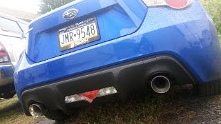 Download Subaru BRZ Berk Muffler Delete Install and Sound Video