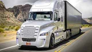 Download Daimler's Self Driving Truck Nevada Worlds First Licensed Autonomous Freightliner Inspiration CARJAM Video