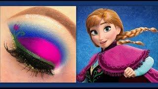 Download Disney's Frozen: Princess Anna makeup tutorial Video