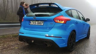 Download 2016 Ford Focus RS: Shots Fired! Video