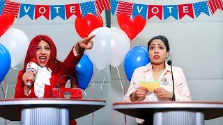 Download HIGH SCHOOL PRESIDENTIAL ELECTIONS *Sabotaging My Enemies Campaign* Video