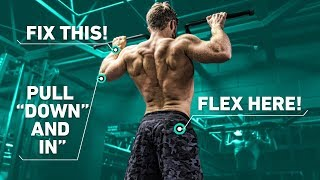Download The Best Way To Do Pull Ups For A Wide Back (Optimal Training Technique) Video